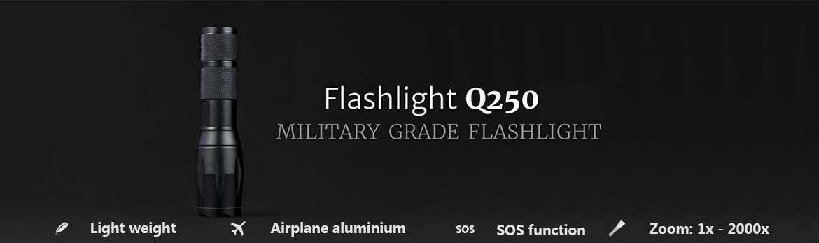flashlight q250